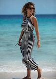 Freya Beach Hut Maxi Dress Zwart