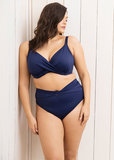 Elomi Magnetic Plunge Bikinitop Blauw ES7193MIH